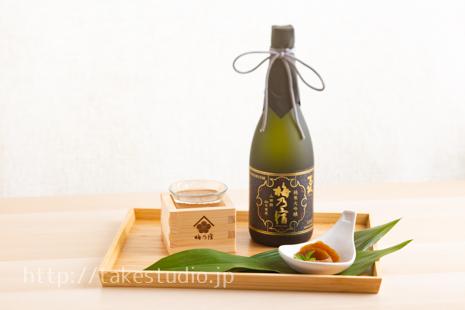 日本酒と奈良漬け